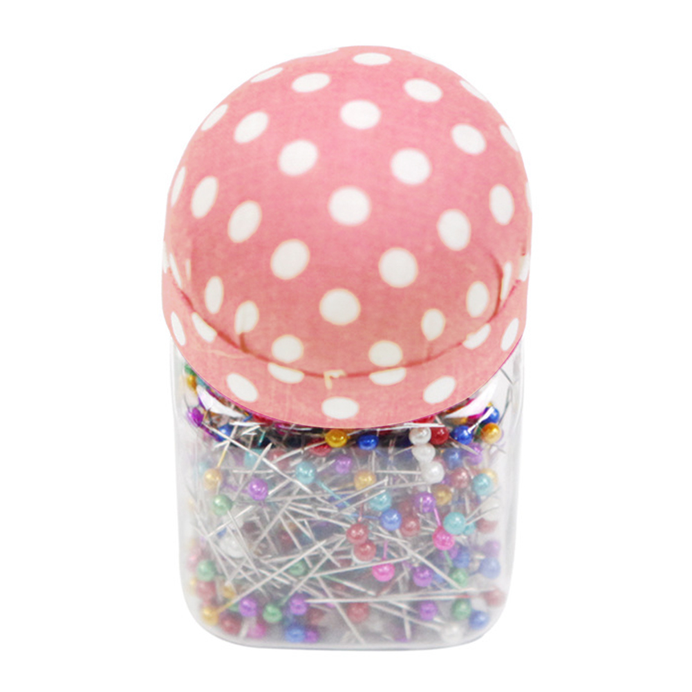 Sewing Quilting Home Craft Pin Cushion Lid Bottle Packed Portable Colorful Needle Dressmaking Professional Decoration DIY Pins(China)