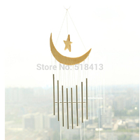 The Moon Stars The Original Wood Wind Chimes Your Moon My Heart Pendant Household Pastoral Act