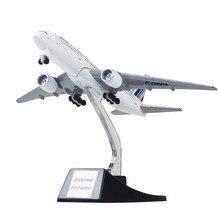 13cm metal avião avião modelo ar frança b777 airways boeing 777 companhias aéreas modelo de avião com rodas carrinho crianças presente