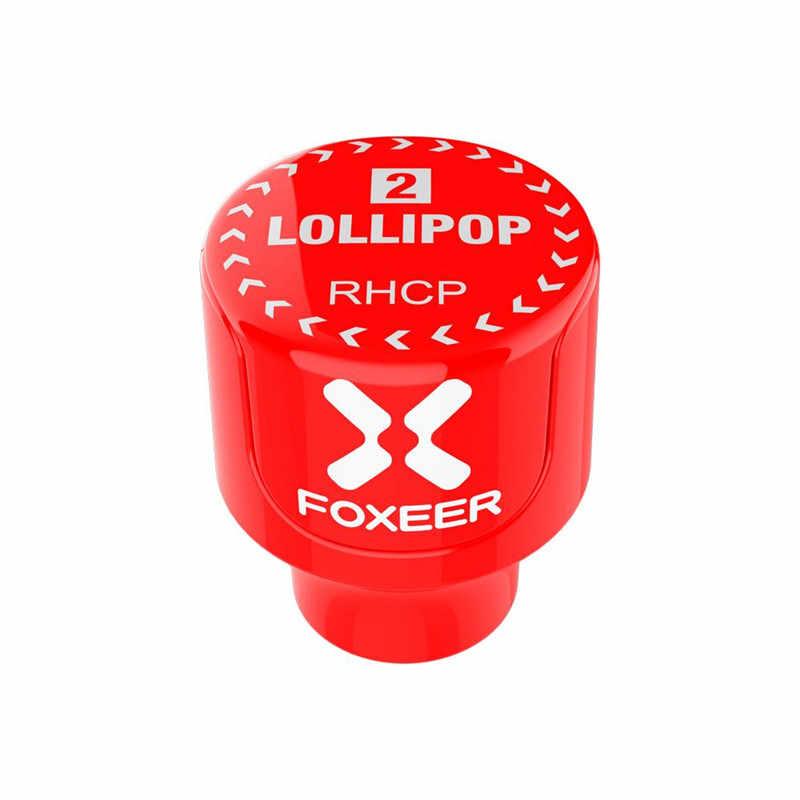 Foxeer Lollipop 3 Stubby антенна 5,8 Г 2.5Dbi RHCP/LHCP 22,7 мм 4,8 г FPV SMA микро гриб приемник Антенна для FPV гоночный Дрон