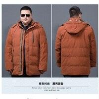 新しい8xl 6xl 5xl 4xl 90%白いアヒル厚いダウンジャケット男性コート雪パーカー男性暖かいブランド服冬