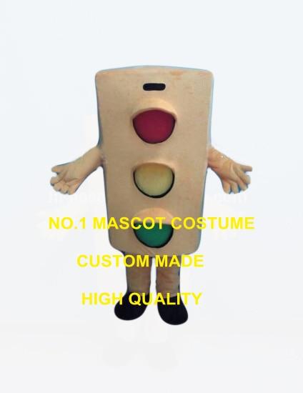 Serio semáforo mascota traje adulto tamaño dibujos animados tráfico seguro  tema anime Cosplay trajes carnaval vestido de lujo 2553 8f86ffce5b98