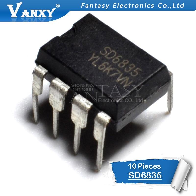 10pcs SD6835 DIP-8 6835 DIP8 DIP