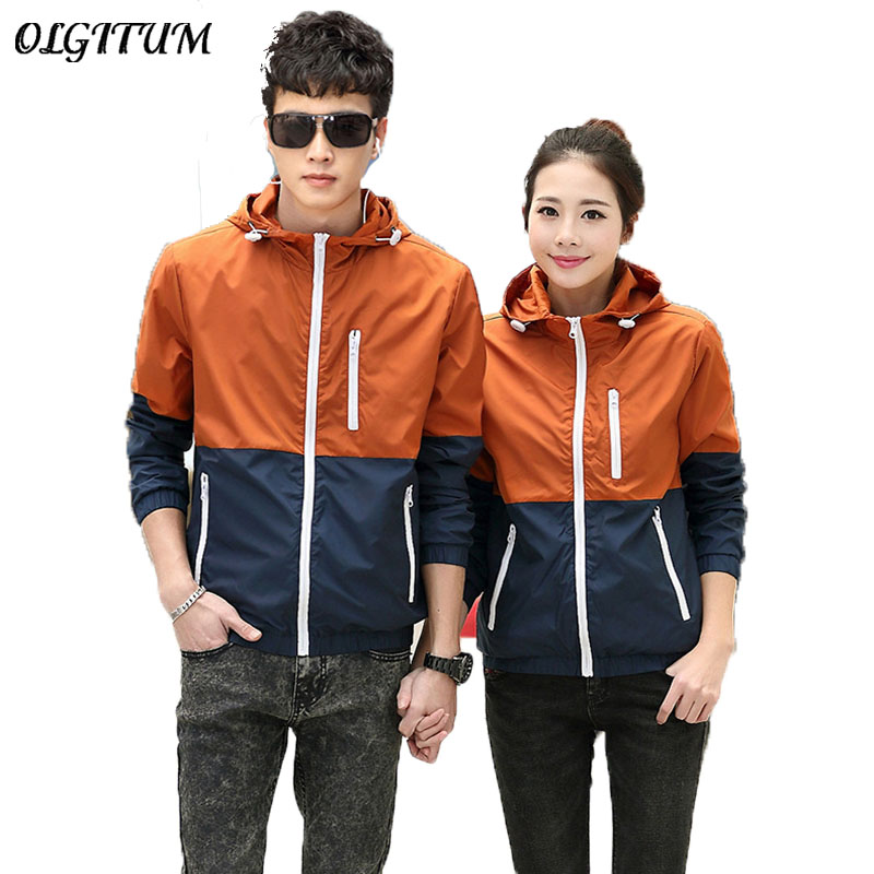 2018 Spring New Jacket Womens Women Jacket Fashion Thin Windbreaker Men Women Coat Jacke ...