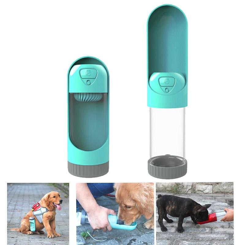 300ml Portable Pet Dog Water Bottle Travel Dog Bowl Cups: Portable Pet Dog Water Bottle Travel Puppy Drinking Bowl