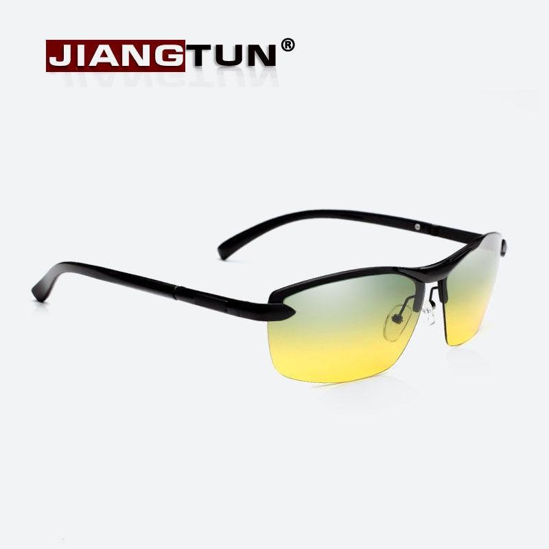 JIANGTUN 2018 Dia E Noite Condução Óculos De Sol Dos Homens de Alumínio E  Magnésio Polarizada f9cf86ae26