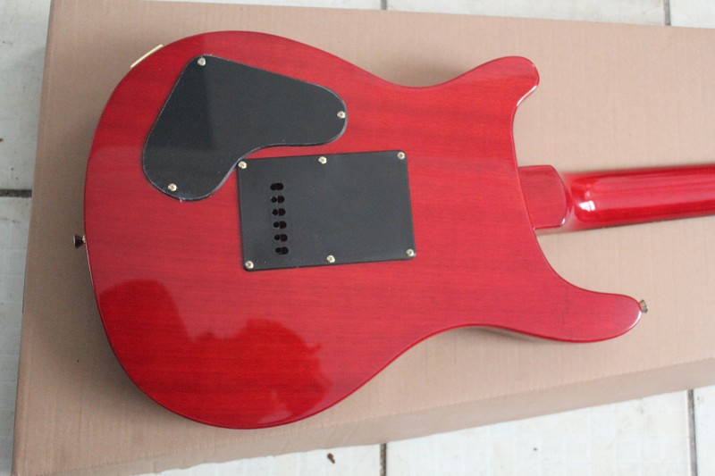 2017 hot selling Red tiger guitar, High quality guitar custom shop! free shipping!
