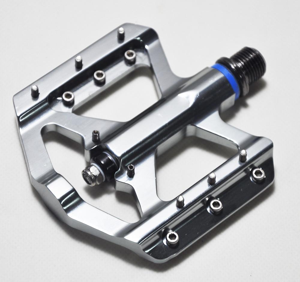 NEW Polishing DU/Bearings Bicycle Pedal Anti-slip Ultralight MTB Mountain Bike Pedal Sealed Bearing Pedals Bicycle Accessories