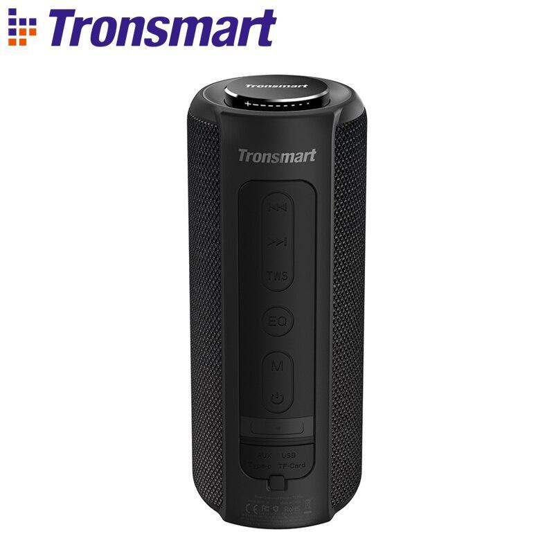 Tronsmart T6 Plus Bluetooth Speaker Soundbar 40W Portable Speaker IPX6 Waterproof with Voice Assistant Deep Bass