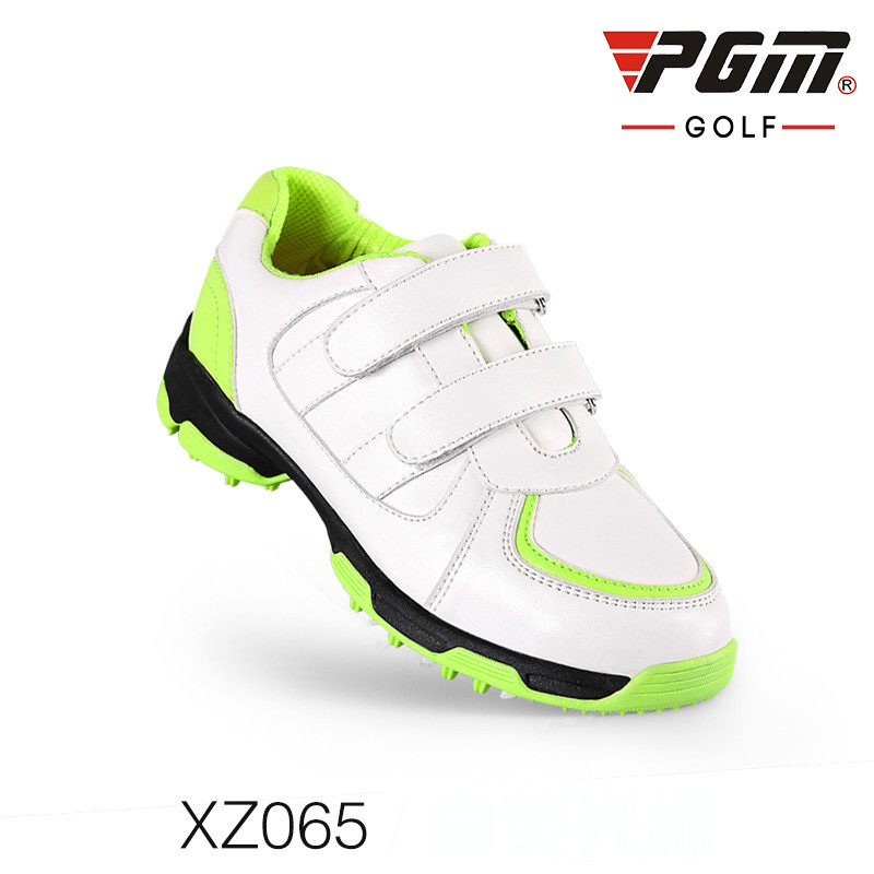PGM Golf Shoes Golf Childrens Waterproof Shoes 3D Breathable Slots Antiskid Patent ShoesPGM Golf Shoes Golf Childrens Waterproof Shoes 3D Breathable Slots Antiskid Patent Shoes