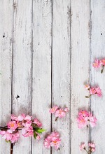 5x7ft backdrops Vinyl Photography Backdrops flower background photography wood floor Baby Children Background for Photo Studio