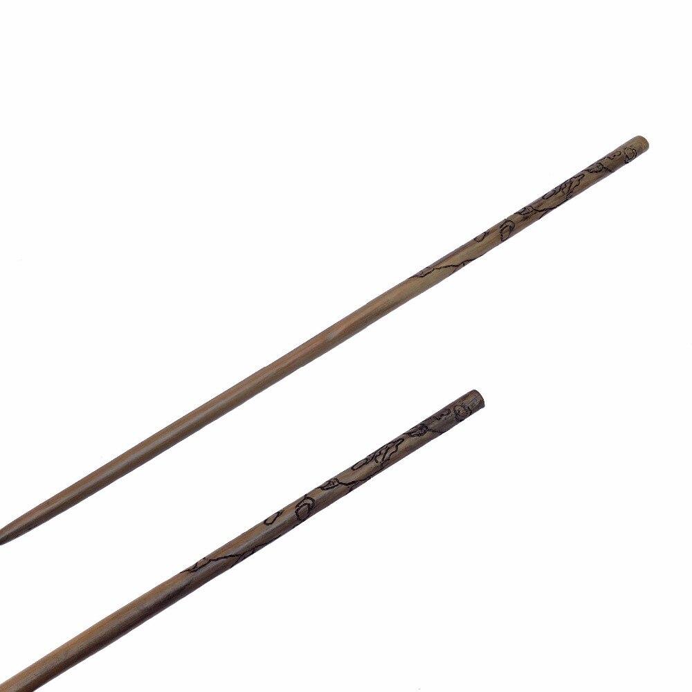 Новое поступление металл железо core Luna Лавгуд палочка Гарри Поттер магическое волшебная палочка Элегантный ленты упаковка подарочная короб...