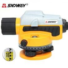 SNDWAY SW32A лазерный уровень автоматический самонивелирующийся 360 вертикальный и горизонтальный наклон открытый режим может использовать w/приемник