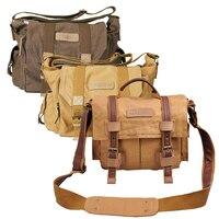 CADeN Camera Bag Sling Shoulder Bags Photo Video Soft Dslr Pack Case Travel Camera Cases For DSLR Canon Nikon Sony F1 F3
