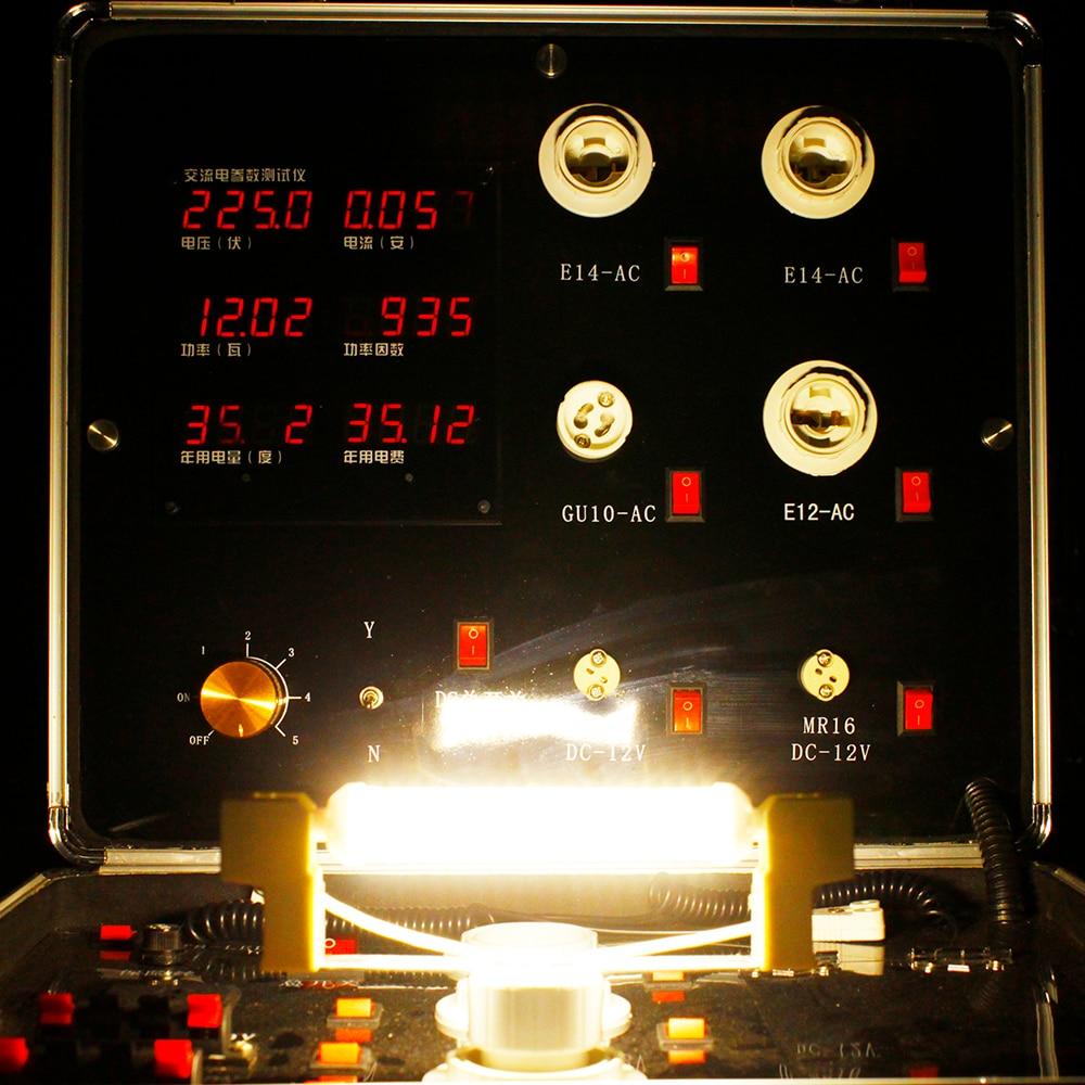 Lâmpadas Led e Tubos poupança de energia substituir halogênio Voltage : Ac220-240v