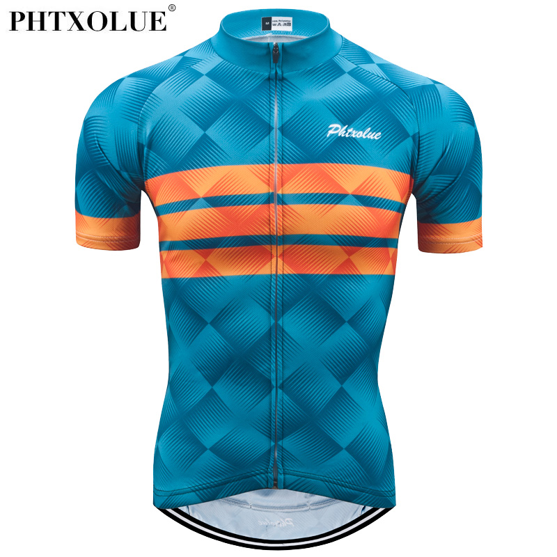 Phtxolue Summer Cycling Jersey Men/Bicycle Wear/Maillot Ciclismo/Mountain Bike Clothes Man/Cycling Clothing(China)