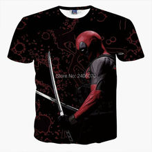 3D T-Shirt American Comic Spiderman Costumes
