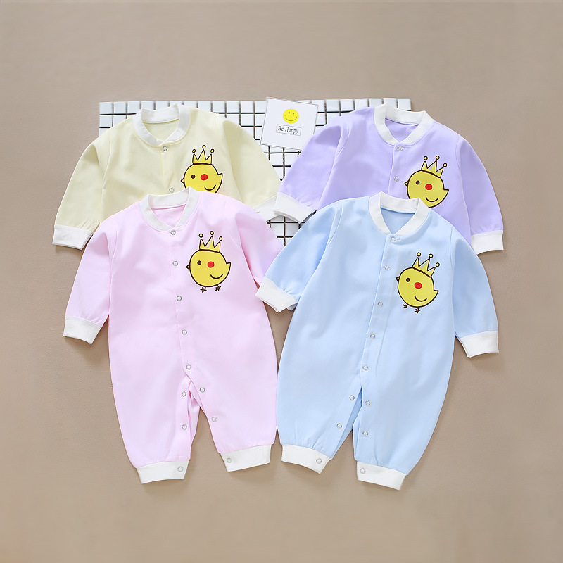 clothes, chickens, cotton clothes, cotton dual-use files, 0-1 year old baby climbing clothes baby conjoined clothes pammy riggs keeping chickens for dummies