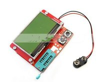 Multifunctional Electronic Circuit Meter Transistor ESR Tester Diode Triode Capacitance Mos Mega MOS/PNP w/ Display