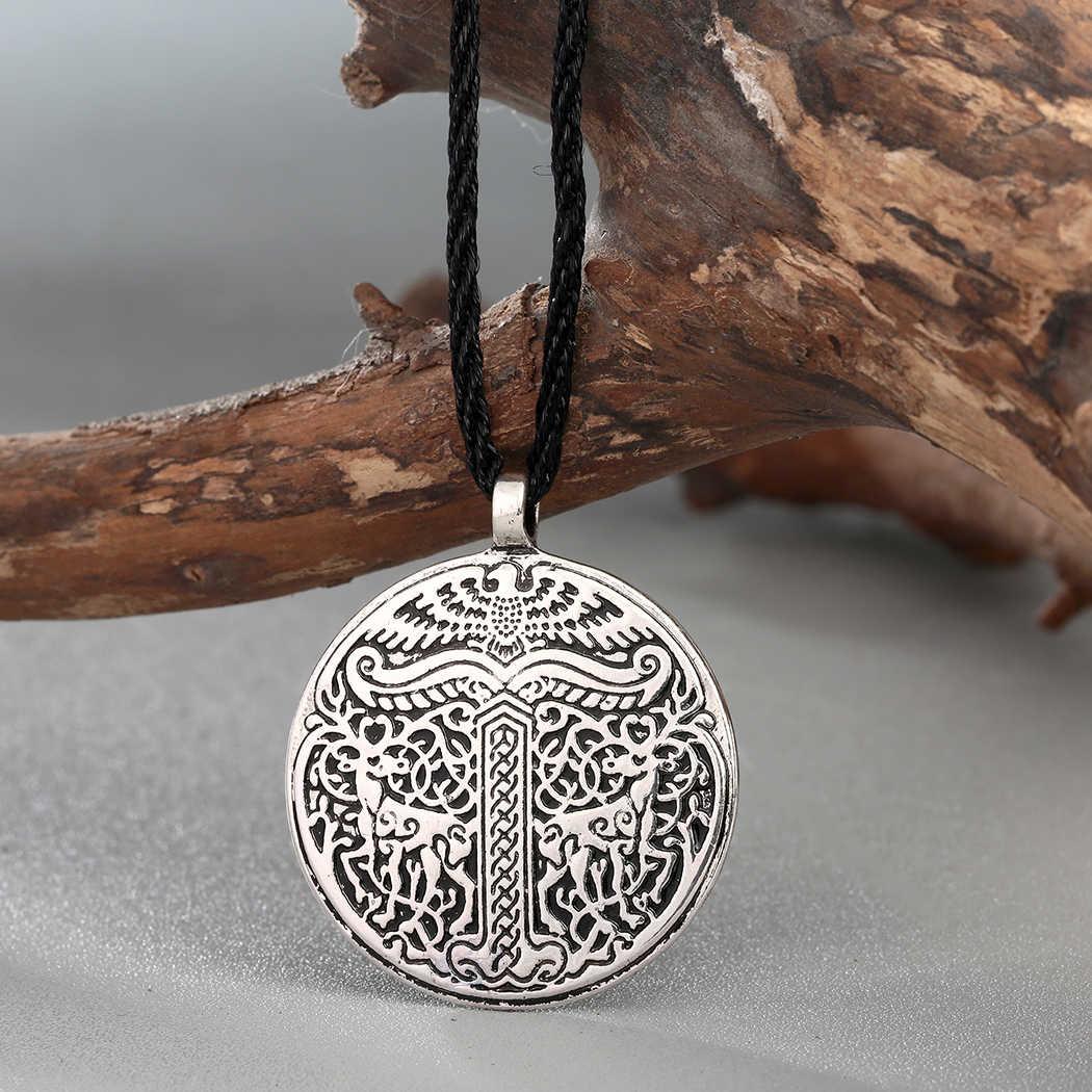 Kinitial Alatyr gwiazda słowiańskich Thor collares biżuteria Amulet naszyjnik Norse Occult wisiorki germańskie pogański mężczyzn Charm naszyjniki