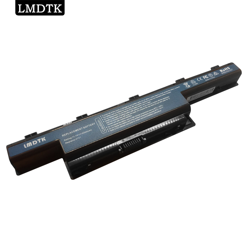 LMDTK nová 6 baterie CELLS pro notebook Acer 4741G AS10D31 AS10D3E AS10D41 AS10D51 AS10D61 AS10D71 AS10D81 AS10G3E AS10D73 AS10D75