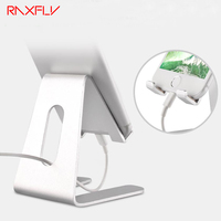 Universal Phone Tablet Desk Holder Stand Aluminum Metal Bracket Support For IPhone 5s SE 6 6s