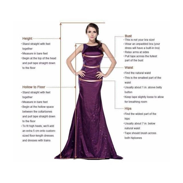 Online Shop Custom Made Long Sleeve Prom Dresses 2018 Dubai Evening ...