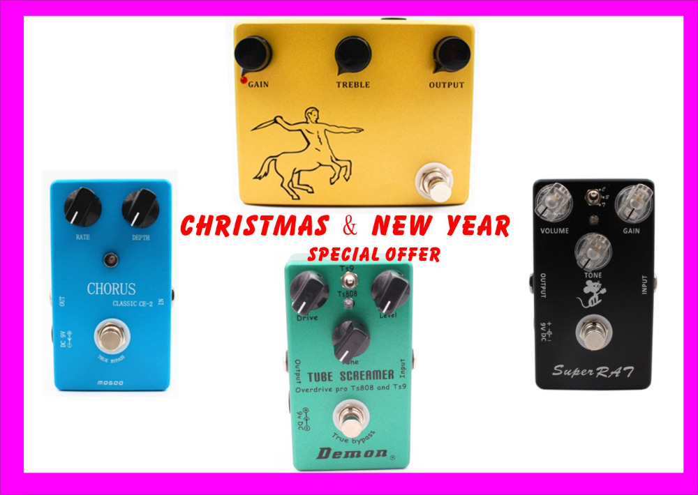 Hand Made Guitar Effect Pedal Overdrive,CE2 Chorus,Distortion And True Buypass mooer ensemble queen bass chorus effect pedal mini guitar effects true bypass with free connector and footswitch topper