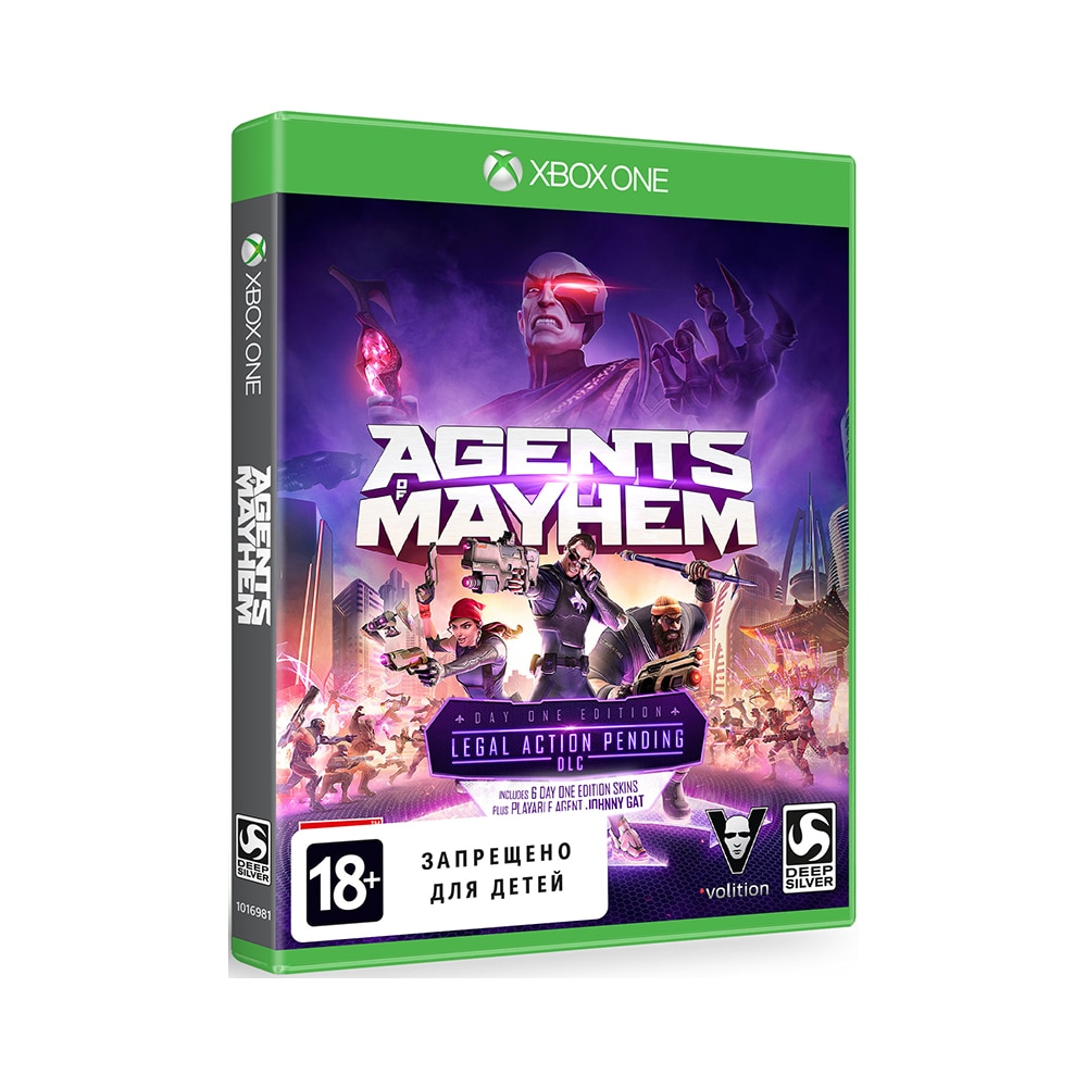 Game Deals xbox Agents of Mayhem xbox One цена и фото