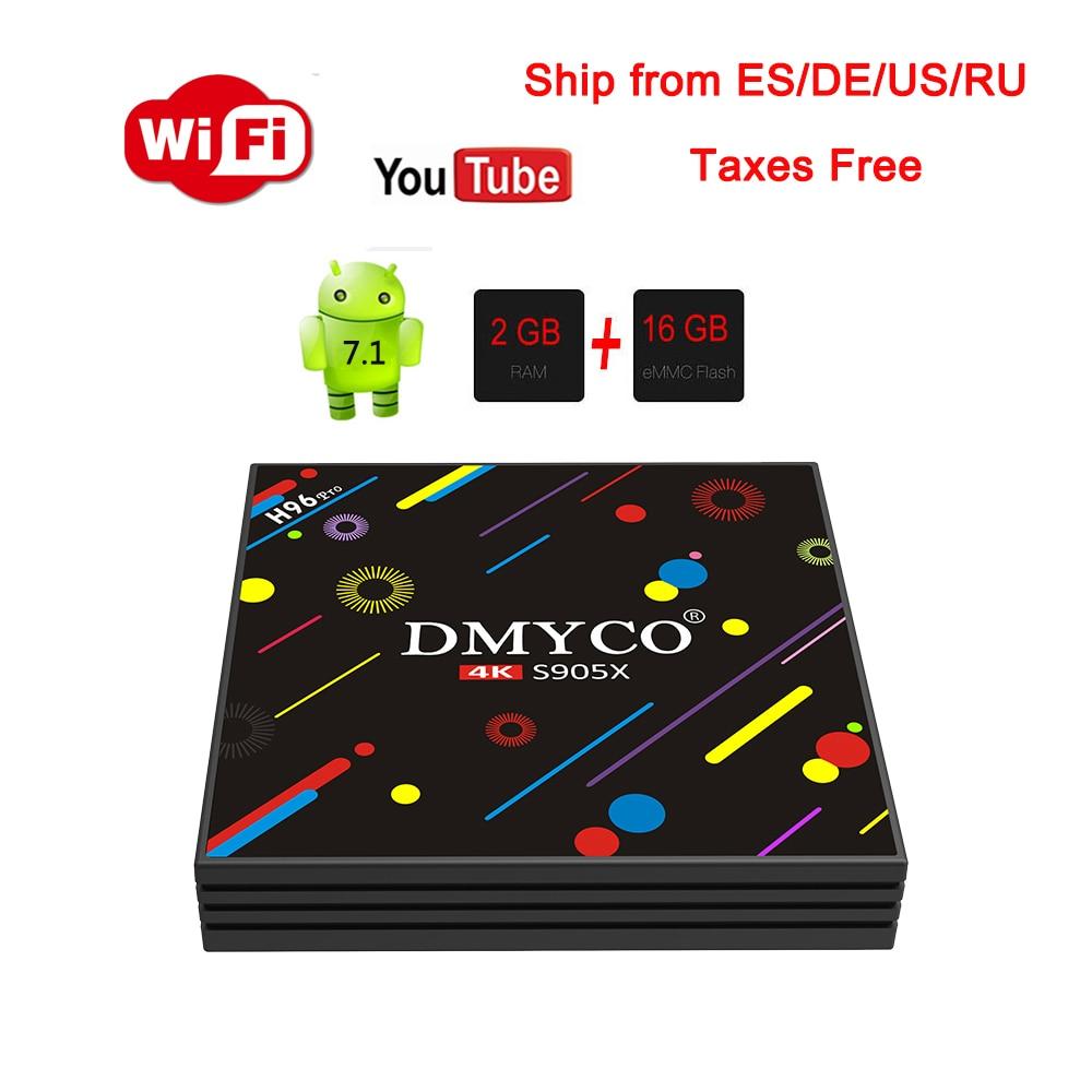 Android 7.1 TV Box H96 Pro Amlogic S905X Octa-Core 2G/16G Bluetooth 2.4G/5.8GHz Wifi HDMI 4K HDR Media Player PK X96 xiaomi BOX 2018 lastest himedia h8 pro 2gb 16gb octa core uhd smart android tv box wifi 3d 4k media player pk mi box 3 x96 mini h96 pro x92