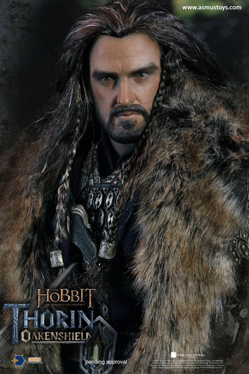For collection 1/6 Scale HOBT06 The Hobbit: An Unexpected Journey THORIN OAKENSHIELD action figure Toys whole set Action Figure 1