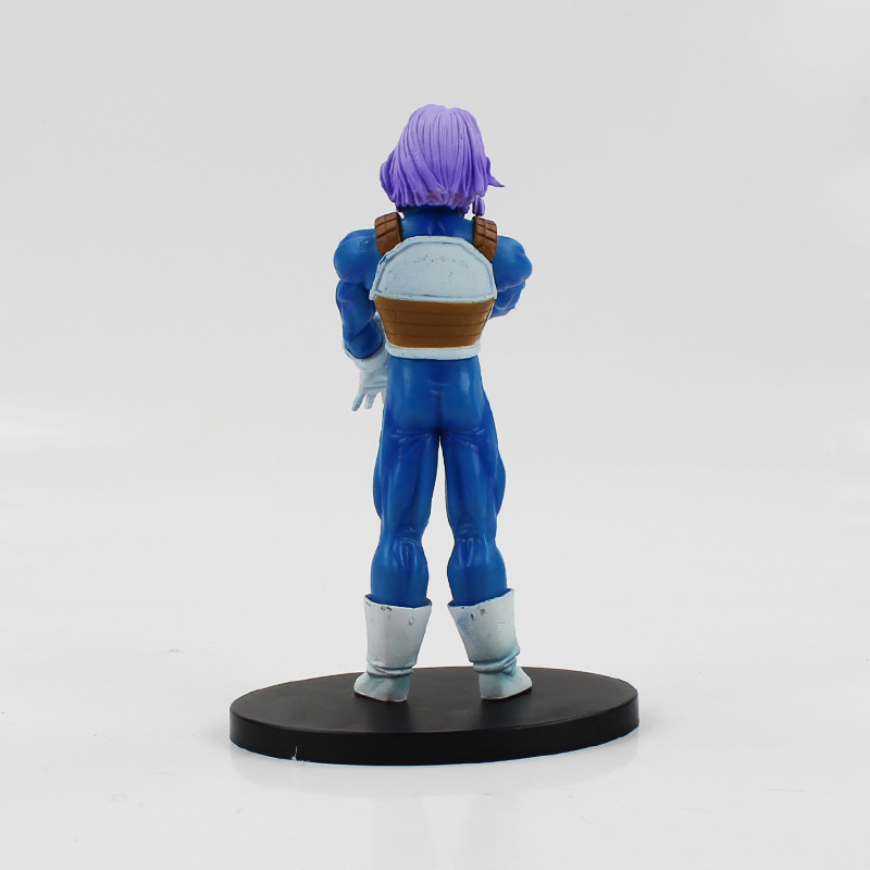 Dragon Ball Z 17cm Trunks Action Figure Anime Manga Resolution of Soldiers vol.5