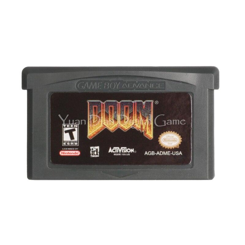 Yuan Dian Digital Game Store Store Nintendo GBA Video Game Cartridge Console Card Doom English Language Version