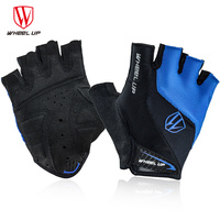 WHEEL UP Summer Half Finger Cycling Gloves Breathable MTB Mountain Bicycle Bike Gloves Men Women S