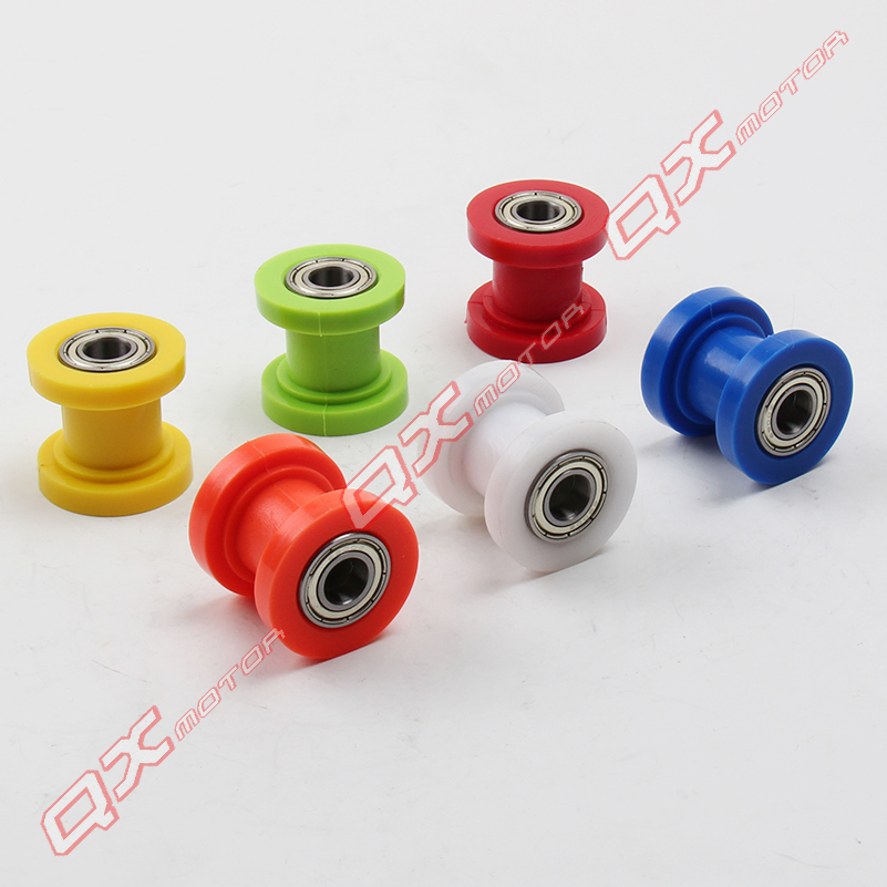 Motorcycle Motorbike 8mm Chain Roller Tensioner Pulley Wheel Guide hX