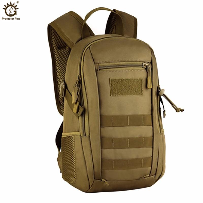 Waterproof Nylon 3D Military Backpack Rucksack Molle Army Bag Tactics Backpacks Female Travel Bag Casual 12L Small Backpack