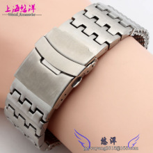Mesh Stainless Steel Watch Band Mens Strap Metal Bracelet 24mm mens stainless steel watchbands
