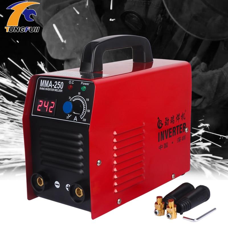 Arc Welder Inverter Welding Machine 20-250A 25KVA IP21 MMA Electric Welder Digital Display Current regulation Electric Welder