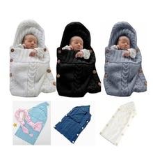0-3 Months Newborn Baby Sleep Bag Wrap Swaddle Blanket Baby Gowns Newborn  Sleep Sack Baby sleeping bag недорого