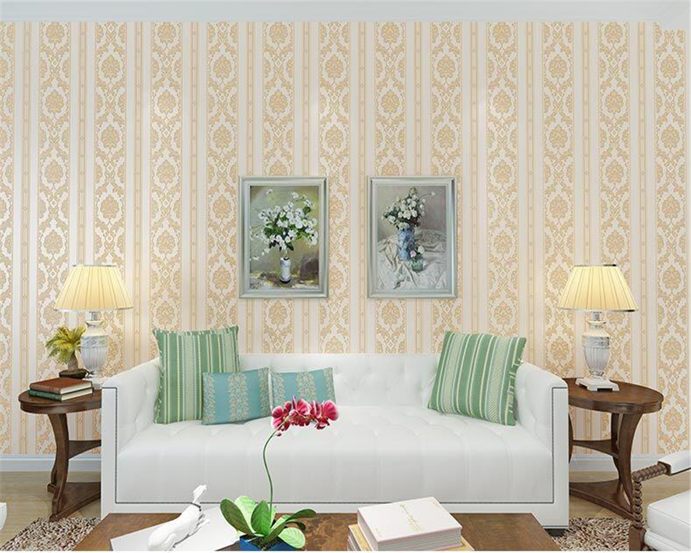 beibehang 2017 European style fine pressure nonwoven fabric wallpaper bedroom living room hotel simple blue stripe 3d wallpaper blue earth cosmic sky zenith living room ceiling murals 3d wallpaper the living room bedroom study paper 3d wallpaper