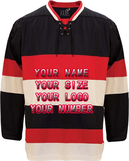 new product ada4a cb22f US $59.99 |Buy Cheap Custom Hockey Design Wholesale ICE Hockey Jerseys  Replica Mens Vintage Jersey Black Red XXS 6XL Free Shipping-in Hockey  Jerseys ...