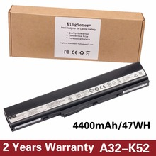 Original New Laptop Battery A32-K52 for ASUS A52F A52J K52D K52DR K52F K52J K52JC K52JE K52N X52J A41-K52 Free 2 Years Warranty