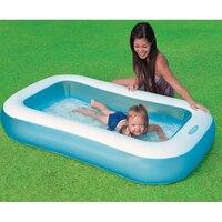 Heimgebrauch Baby Aufblasbare Schwimmwasser-pool Beweglicher Im Freien Kinder Badewanne Piscina Bebe Zwembad PVC Wasserdichte Badewanne