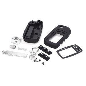 Чехол для ключей с переключателем для Tomahawk Tw9010 Tw9020 Tw9030 чехол с отрезаемым лезвием для Fob откидной автомобильный пульт дистанционного управл...