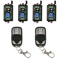 Universal DC 9V 12V 24V Relay 1CH 1 CH Wireless Remote Control Switch Receiver Module and RF Transmitter,315 / 433 MHz