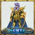 MetalClub Scorpio Milo Saint Seiya Mito Pano De Ouro Ex Figura de Ação armadura de metal