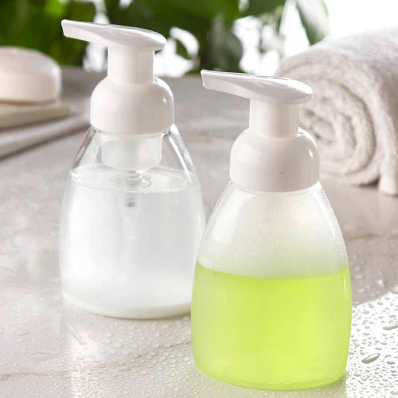 Прозрачная бутыль с насосом для пены Мыльная Пена мусс диспенсеры для жидкости бытовые для здоровья детей 30/50/100/150/300 мл опционально