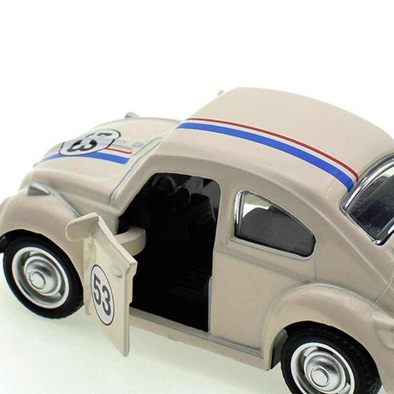 Herbie Volkswagen Beetle 53 Model Toy Car 13