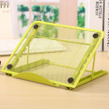 free shipping Desktop folding 6-way multi-function notebook stand cooling base flat For ipad bracket