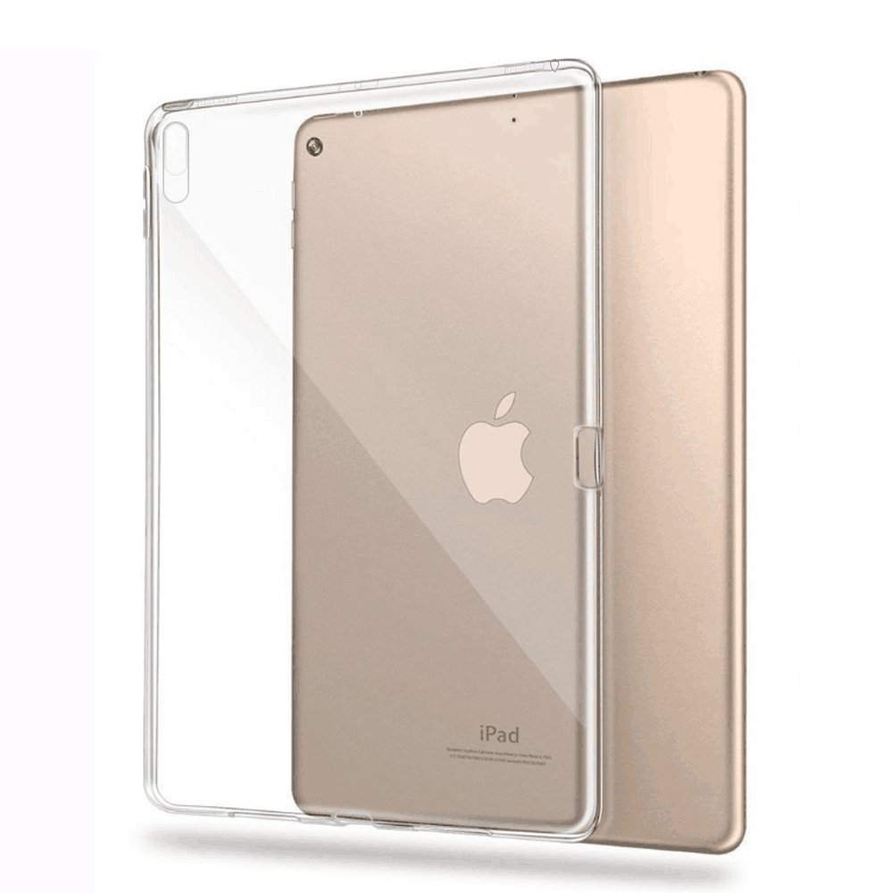 buy popular 7ad5e bbe52 US $3.81 9% OFF|Transparent Soft Gel TPU Silicone Case Cover for iPad Pro  10.5 Case Protective Shell for New iPad Pro 10.5 Inch 2017 Cover -in  Tablets ...